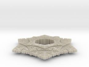Cesaro Snowflake - 5 in White Acrylic