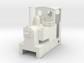 O9 Side tank with cab  in White Natural Versatile Plastic