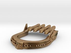 Centauroi Manowar Keshikaze in Natural Brass