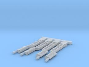 AMT 1/48 TIE Interceptor Laser Tips in Smooth Fine Detail Plastic