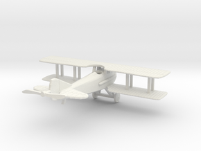 1/144 SPAD S.XIII in White Natural Versatile Plastic