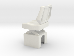 MACK-Seat-1-10 in White Natural Versatile Plastic