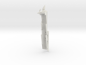 Starboard Mandible 4 in White Natural Versatile Plastic