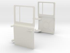 MACK-Cab-doors-1-10 in White Natural Versatile Plastic