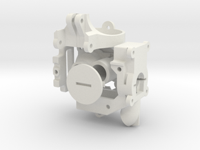 Bundle of Robot Parts in White Natural Versatile Plastic