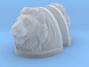 Lion Shoulders Pair (x1) in Smooth Fine Detail Plastic