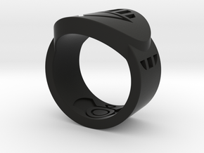 Death FF Ring Sz 7 in Black Strong & Flexible