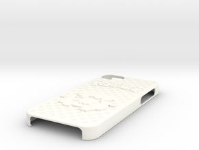 Pokemon Case for iPhone 5 (Bulbasaur Evo. Ver.) in White Strong & Flexible Polished