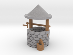 budget Wishing Well in Full Color Sandstone