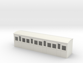 009 colonial 4 compartment 1st coach in White Natural Versatile Plastic