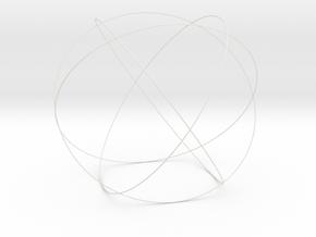 "9.5"" Genesa Crystal in White Natural Versatile Plastic"