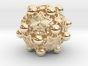 Nucleus D12 in 14K Yellow Gold