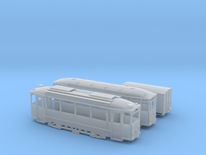 Hist. Straßenbahnzug Thüringer Waldbahn Spur H0  in Smooth Fine Detail Plastic