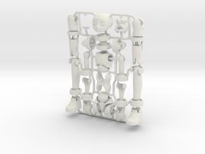 Erstaz MKII action figure Angel Body in White Strong & Flexible