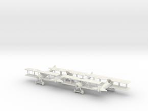 1/144 SPAD VII x4 in White Natural Versatile Plastic