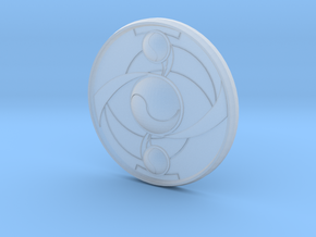 Homura's Shield in Smooth Fine Detail Plastic