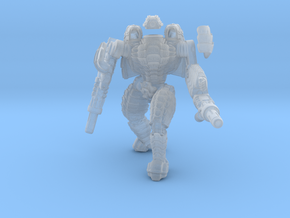 Mech suit with twin weapons. (5) in Frosted Ultra Detail