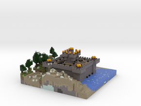 Johns Castle and Land in Full Color Sandstone