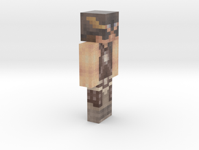 6cm   Cup_Cake_MAN in Full Color Sandstone