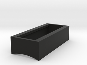 Control Box - BarGraph Surround Box in Black Natural Versatile Plastic