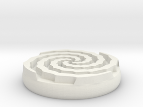 vortex sigil in White Natural Versatile Plastic