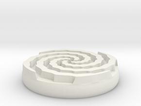 vortex sigil in White Natural Versatile Plastic