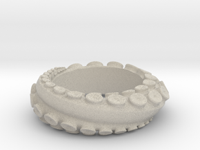 Octo Ring S10.5 in Natural Sandstone