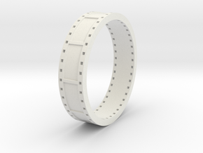 ring film strip in White Natural Versatile Plastic