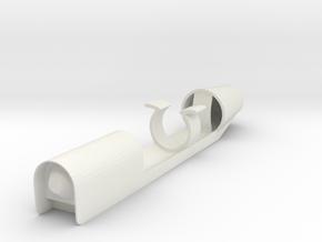 Falling Number Shaker Mod in White Natural Versatile Plastic