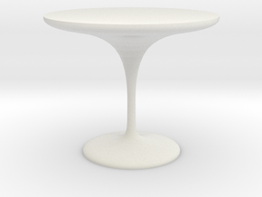 plastic table 1 in White Strong & Flexible