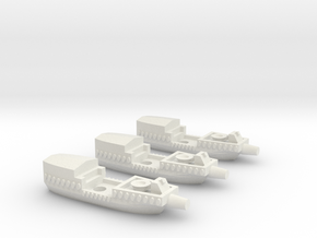 Fantasy Fleet Cutters in White Strong & Flexible