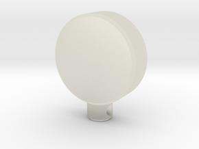 Power Icon Pendant in Transparent Acrylic