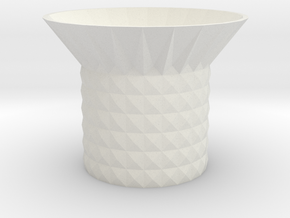 storage bowl  in White Natural Versatile Plastic