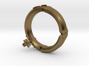 DG ring 5 in Natural Bronze