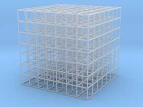 grid 7 / 2cm space / 2mm thickness in Smooth Fine Detail Plastic