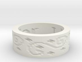 by kelecrea, engraved: I love Taylor in White Natural Versatile Plastic