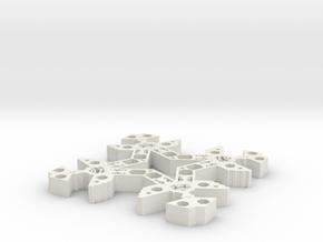 excusife in White Natural Versatile Plastic
