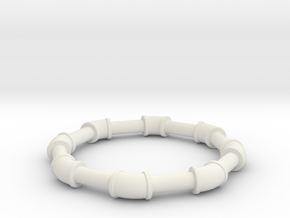 1 ell 45 in White Natural Versatile Plastic