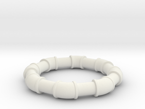 2  ell 45 in White Natural Versatile Plastic
