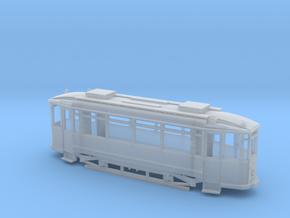 Tramtriebwagen Waggonfabrik Lindner Spur H0m (1:87 in Smooth Fine Detail Plastic