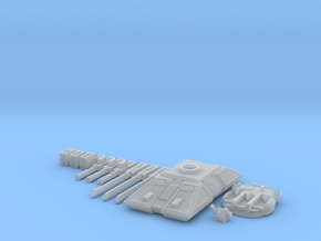 MG144-HE004 Eques Battle Tank in Smooth Fine Detail Plastic