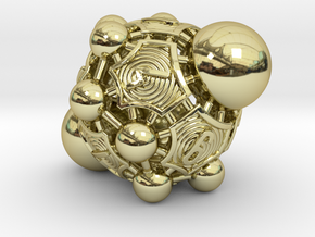 Nucleus D10 in 18k Gold Plated Brass