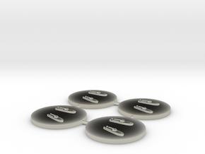 TM-4 MTB 1:1800 x4 in Transparent Acrylic
