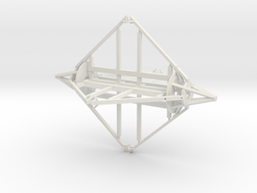 Observatory Frame in White Natural Versatile Plastic