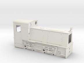 Feldbahnlok HF50b Spur 0e/f Waldbahn Reichraming ( in White Natural Versatile Plastic