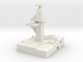 tower in White Natural Versatile Plastic