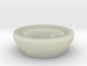 Fake Bowl  in Transparent Acrylic