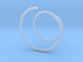 Glasscharm in Smooth Fine Detail Plastic
