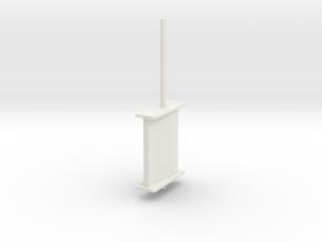 schilling rudder springer v5 in White Natural Versatile Plastic