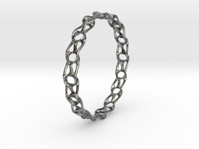 Topo Bracelet in Fine Detail Polished Silver